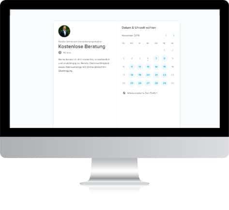 Kostenlose Online-Beratung mit Bildschirmübertragung